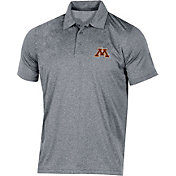 Champion Men's Minnesota Golden Gophers Grey Classic Polo