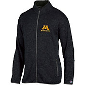 Champion Men's Minnesota Golden Gophers Grey Playbook Full-Zip Jacket