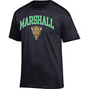 Champion Men's Marshall Thundering Herd Black Big Soft T-Shirt