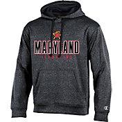Champion Men's Maryland Terrapins Grey T-Formation Hoodie
