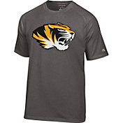 Champion Men's Missouri Tigers Grey Big Logo T-Shirt
