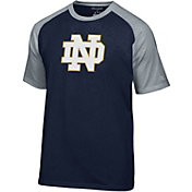 Champion Men's Notre Dame Fighting Irish Navy Big Logo T-Shirt