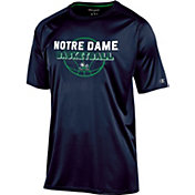 Champion Men's Notre Dame Fighting Irish Navy Training T-Shirt
