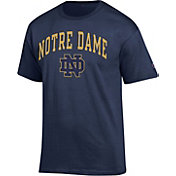 Champion Men's Notre Dame Fighting Irish Navy Big Soft T-Shirt