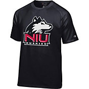 Champion Men's Northern Illinois Huskies Black Big Logo T-Shirt