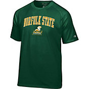 Champion Men's Norfolk State Spartans Green Logo T-Shirt