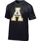 Champion Men's Appalachian State Mountaineers Black Big Logo T-Shirt