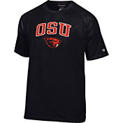 Champion Men's Oregon State Beavers Black Logo T-Shirt