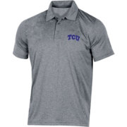 Champion Men's TCU Horned Frogs Grey Classic Polo