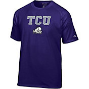 Champion Men's TCU Horned Frogs Purple Word Logo T-Shirt