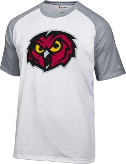 86cdf16ee4be Champion Men s Temple Owls White Big Logo T-Shirt. noImageFound