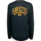 Champion Iowa Hawkeyes Black Pursuit Long Sleeve Shirt