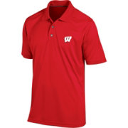 Champion Men's Wisconsin Badgers Red Classic Polo
