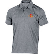 Champion Men's Iowa State Cyclones Grey Classic Polo