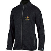 Champion Men's Iowa State Cyclones Grey Playbook Full-Zip Jacket