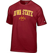 Champion Men's Iowa State Cyclones Cardinal Logo T-Shirt