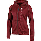 Champion Women's Alabama Crimson Tide Crimson Student Section Full-Zip Hoodie