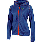 Champion Women's Florida Gators Blue Student Section Full-Zip Hoodie