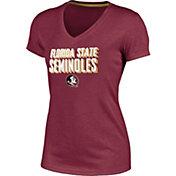 Champion Women's Florida State Seminoles Garnet Success V-Neck T-Shirt