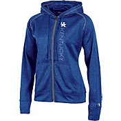 Champion Women's Kentucky Wildcats Blue Student Section Full-Zip Hoodie