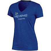 Champion Women's Memphis Tigers Blue Success V-Neck T-Shirt