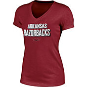 Champion Women's Arkansas Razorbacks Cardinal Success V-Neck T-Shirt