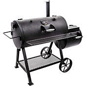 Oklahoma Joe's Highland Reverse Flow Offset Smoker and Charcoal Grill