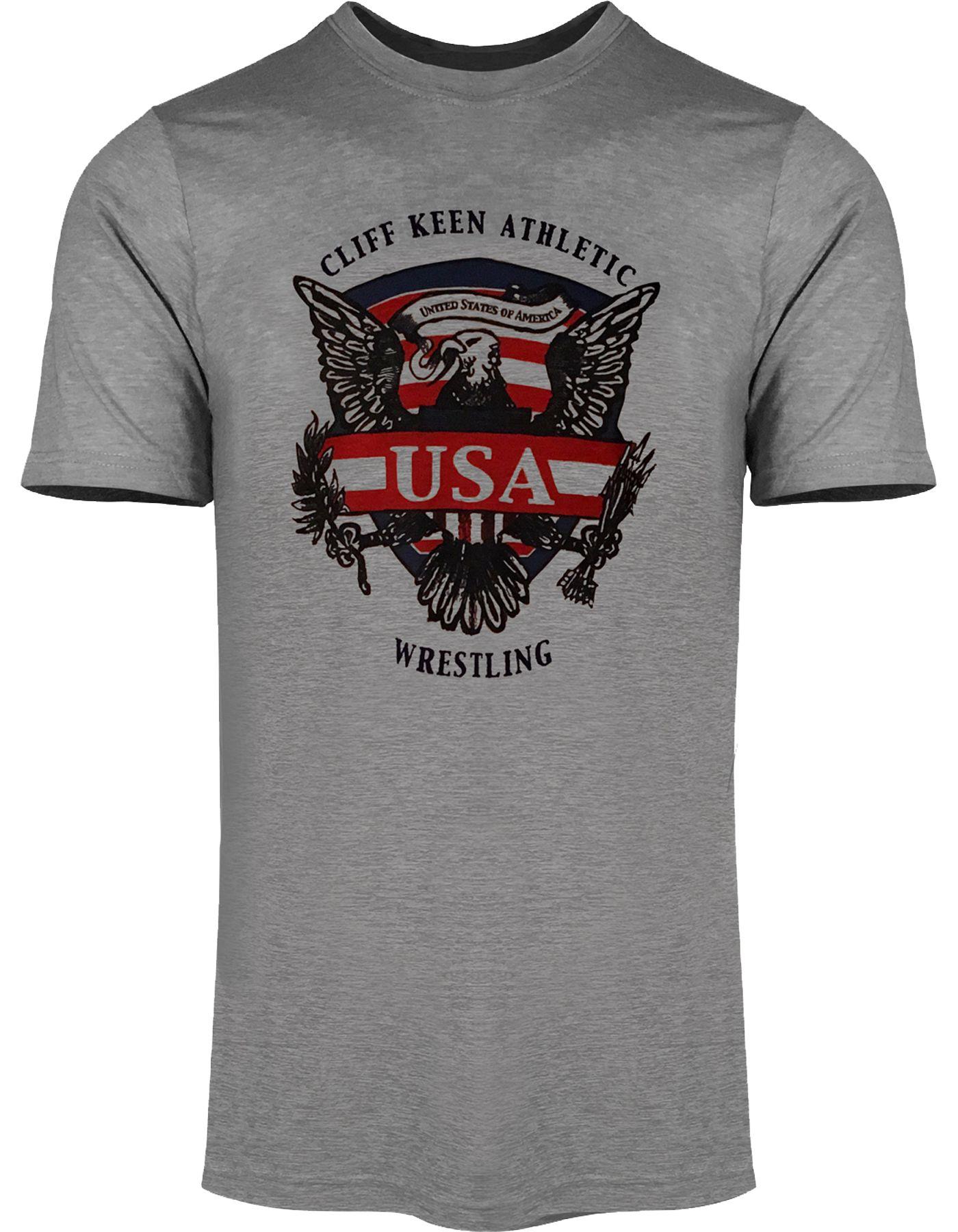 Cliff Keen Adult Historic Eagle Wrestling T-Shirt