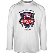 Cliff Keen Adult Historic Eagle Loose Long-Sleeve Wrestling Top