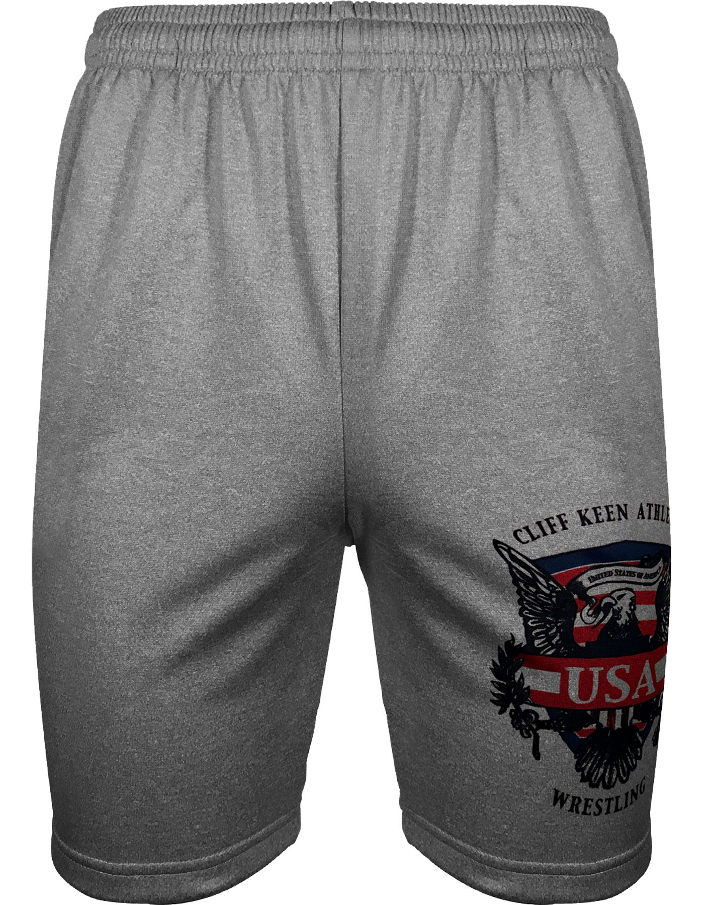 Cliff Keen Adult Historic Eagle Xtreme Fleece Wrestling Shorts