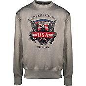 Cliff Keen Adult Historic Eagle Xtreme Fleece Wrestling Crew Sweatshirt