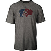 Cliff Keen Adult MXS Performance Stretch Buffalo Logo Wrestling T-Shirt