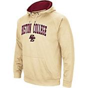 Colosseum Men's Boston College Eagles Gold Performance Hoodie