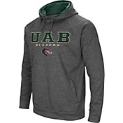 Colosseum Men's UAB Blazers Grey Fleece Hoodie