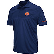 Colosseum Men's Auburn Tigers Blue Stance Polo