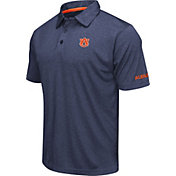 Colosseum Men's Auburn Tigers Blue Axis Polo
