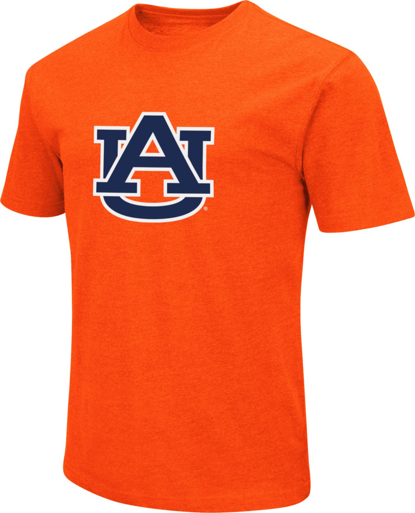 Colosseum Men's Auburn Tigers Orange Dual Blend T-Shirt