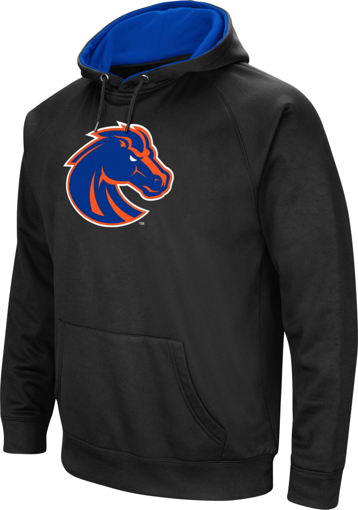 Colosseum Men's Boise State Broncos Black Performance Hoodie