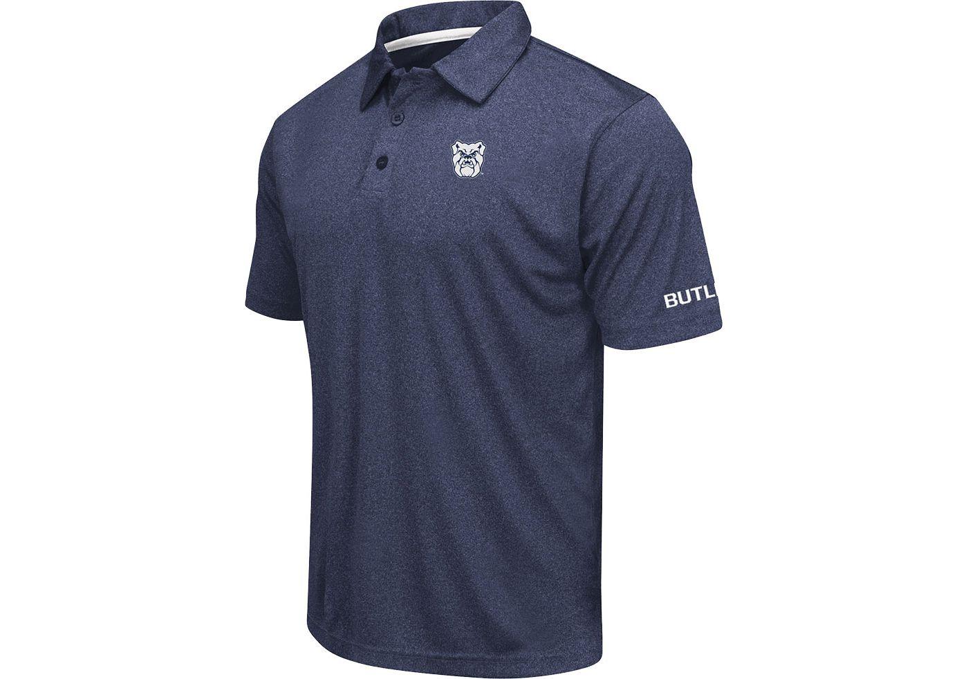 Colosseum Men's Butler Bulldogs Blue Axis Polo