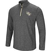 Colosseum Men's UCF Knights Grey Action Pass Quarter-Zip Shirt