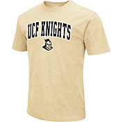 Colosseum Men's UCF Knights Gold Dual Blend T-Shirt