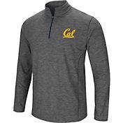 Colosseum Men's Cal Golden Bears Grey Action Pass Quarter-Zip Shirt