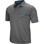 Colosseum Men's UCLA Bruins Grey Cut Shot Polo