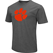 Colosseum Men's Clemson Tigers Grey Dual Blend T-Shirt