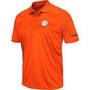 Colosseum Men's Clemson Tigers Orange Stance Polo