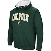 Colosseum Men's Cal Poly Mustangs Green Fleece Hoodie