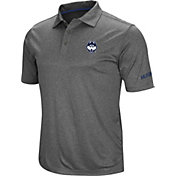 Colosseum Men's UConn Huskies Grey Cut Shot Polo