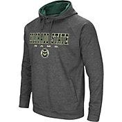 Colosseum Men's Colorado State Rams Grey Fleece Hoodie