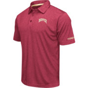 Colosseum Men's Denver Pioneers Crimson Axis Polo
