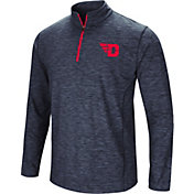 Colosseum Athletics Men's Dayton Flyers Navy Action Pass Quarter-Zip Shirt